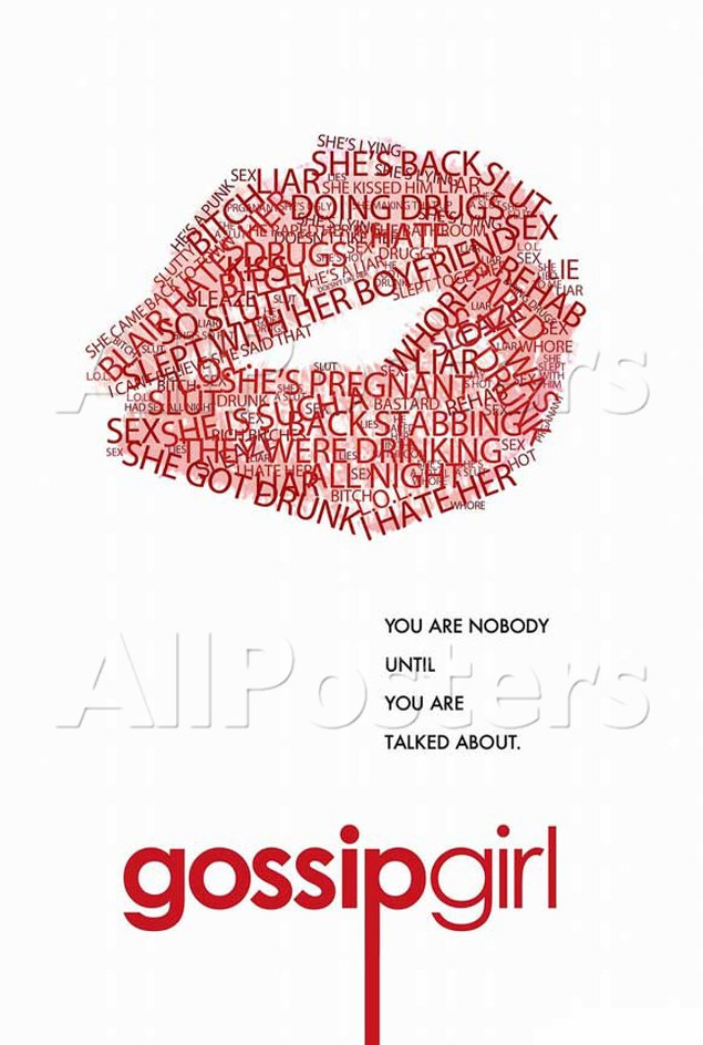 Gallery For gt Gossip Girl Logo With Lips