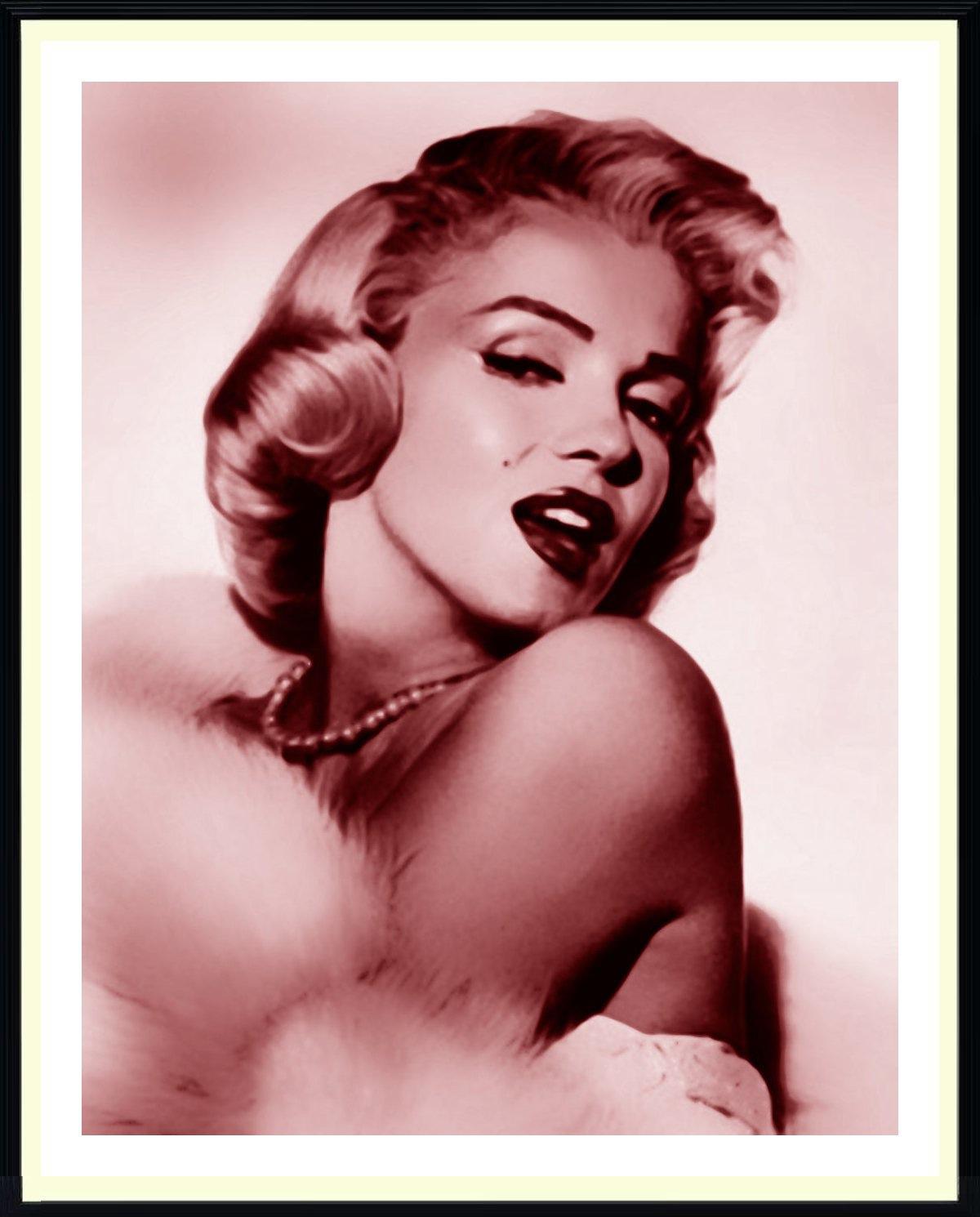 """Предпросмотр схемы вышивки  """"Мерлин Монро """".  Мерлин Монро, девушка, актрисса, мерлин монро."""
