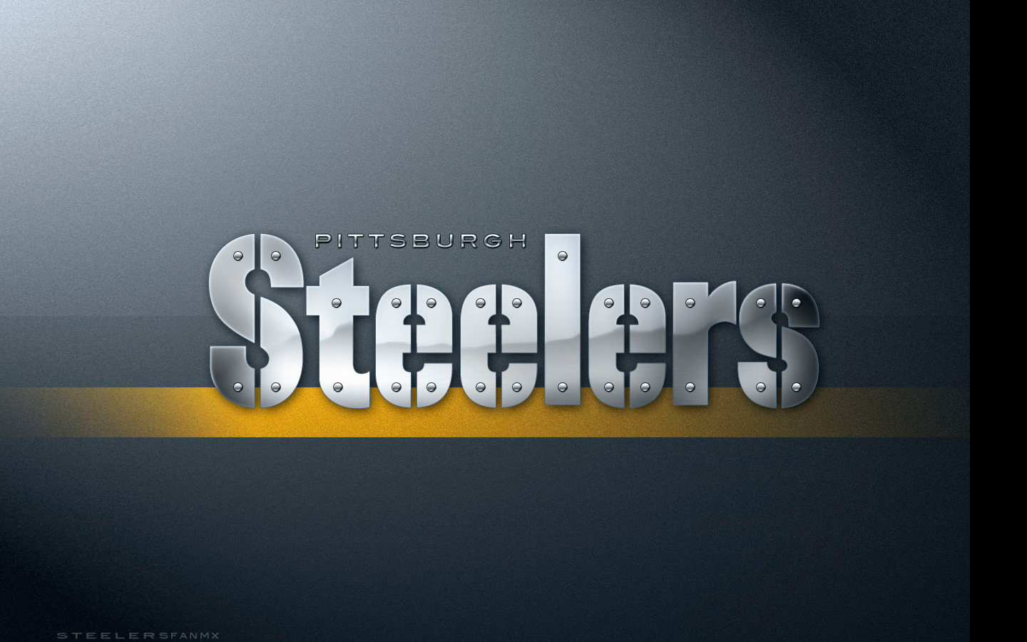 The Pittsburgh Steelers word